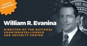 ILTA LegalSEC Summit 2019 Keynote Speaker William R. Evanina
